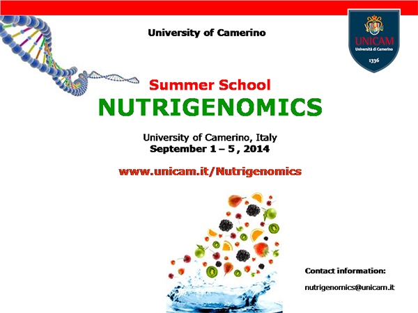 Summer School on Nutrigenomics