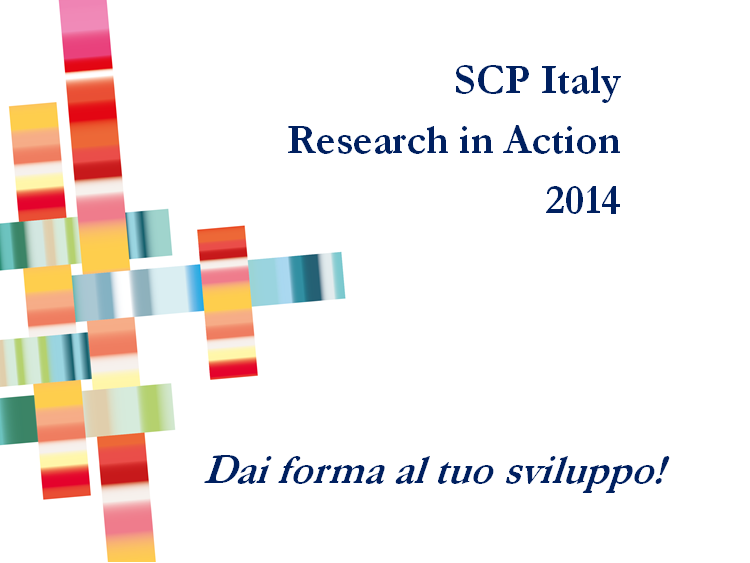 SCP Italy Research in Action 2014